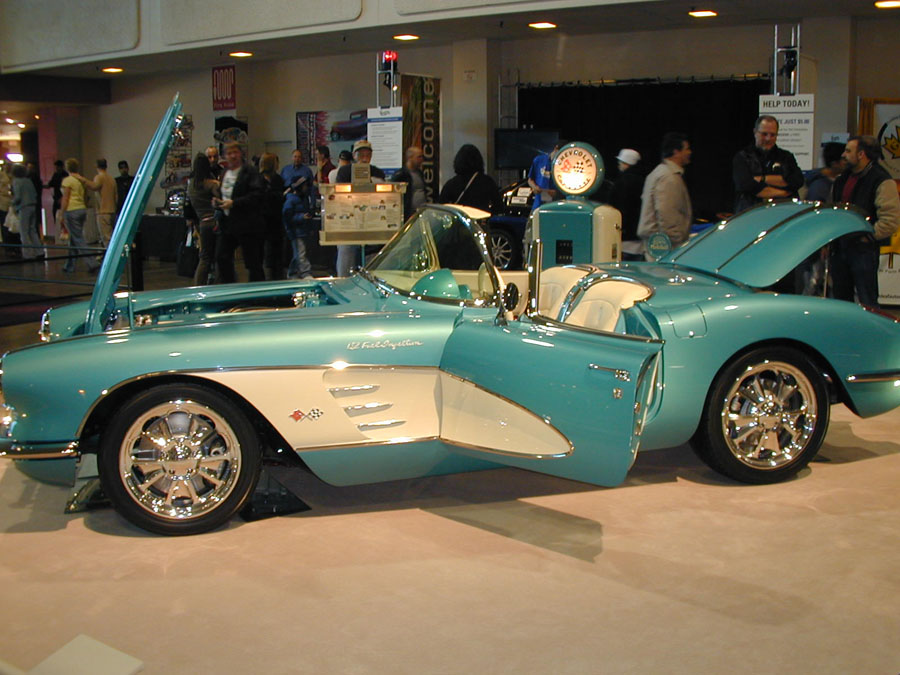 58 Corvette Tack Auto Marine Upholstery