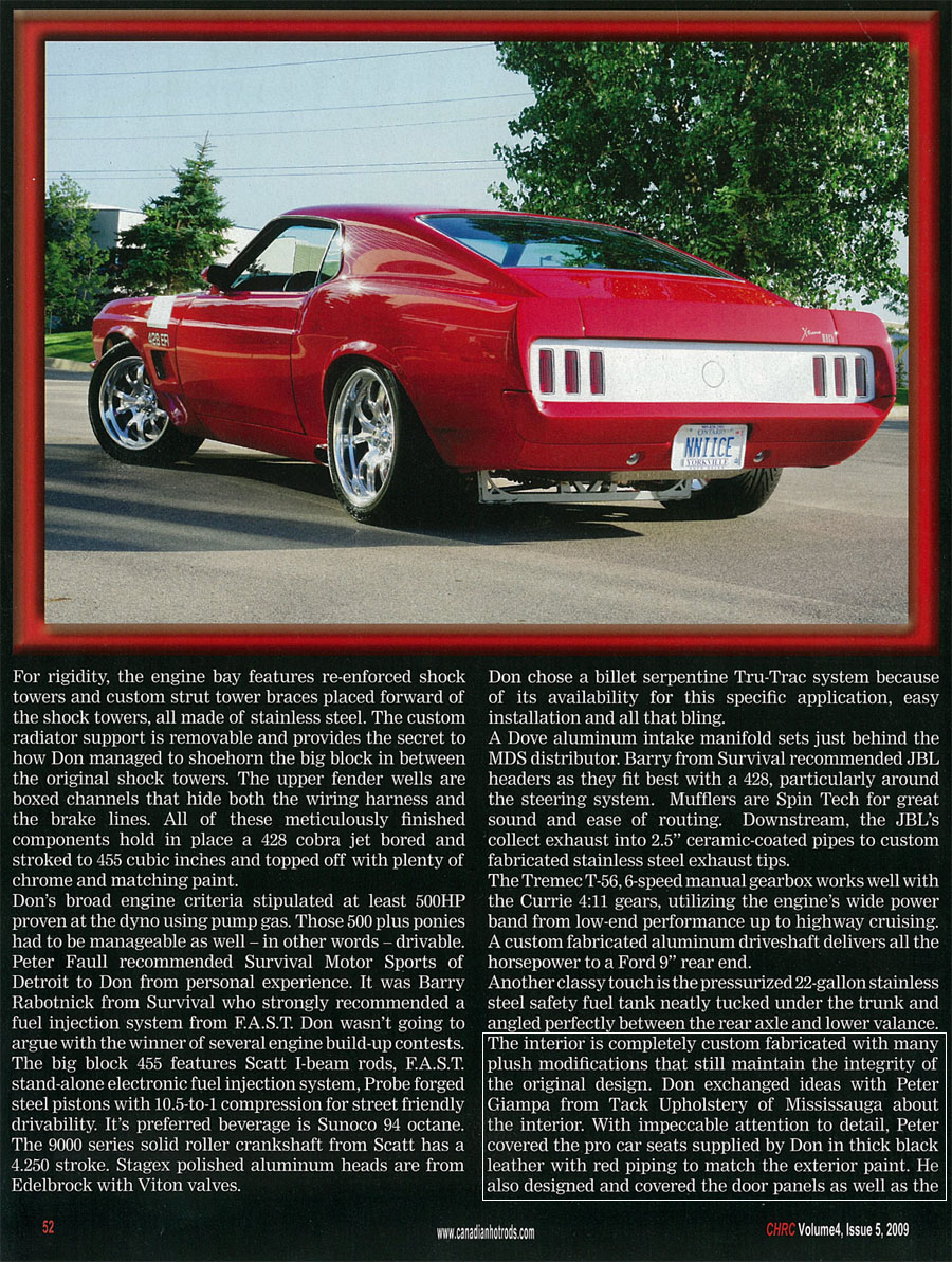 Canadian Hot Rods Vol 4 Iss 5 - Tack Auto Marine Upholstery